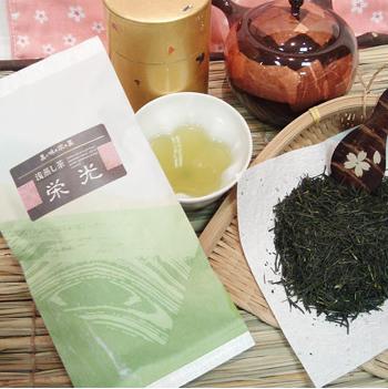 深蒸し茶「栄光」