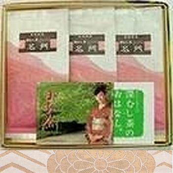 日本茶 ギフト 通販 銘茶詰合せ(名門3本) ギフト商品