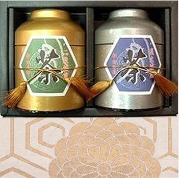 日本茶 ギフト 通販 特別培煎茶(吉祥)2缶 ギフト商品