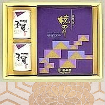 日本茶 ギフト 通販 銘茶・海苔詰合せ ギフト商